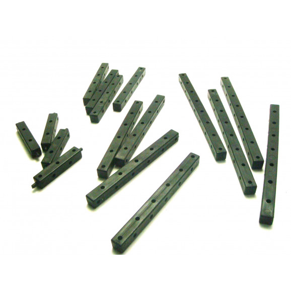 Kit Vigas 3D Termoplástico Preto 022  - Modelix
