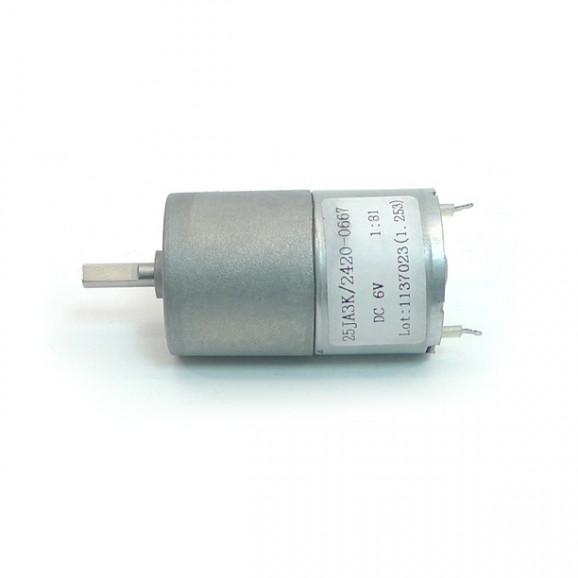 Motor com Redução 6V 83 RPM Cód. Motor 08.B