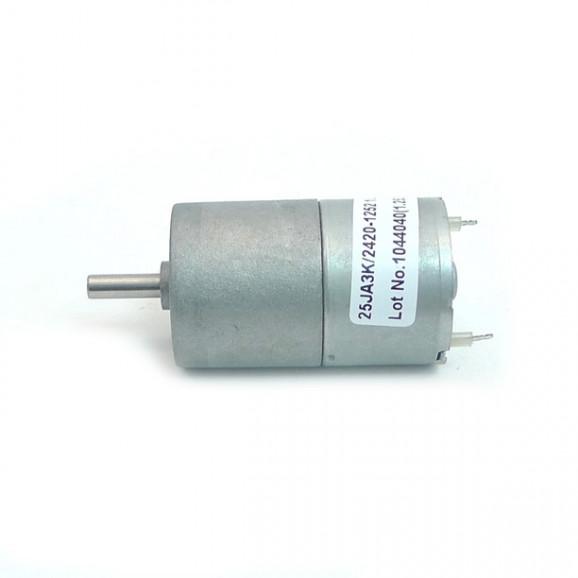 Motor com Redução 12V 226 RPM Cód. Motor 12.B