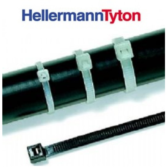 Abraçadeira Insulok Hellermann T30R 150x3,6mm Preto Pacote com 500 Peças