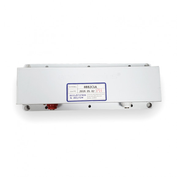 Tanque de Reverb Curto com 3 Molas 8BB2C1A - Accutronics & Belton