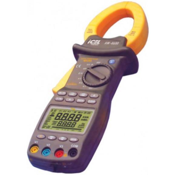 Alicate Wattímetro Digital Aw-4600 True Rms Trifasico