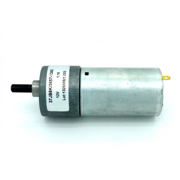 Motor com Redução 12V 233 RPM Cód. Motor 44