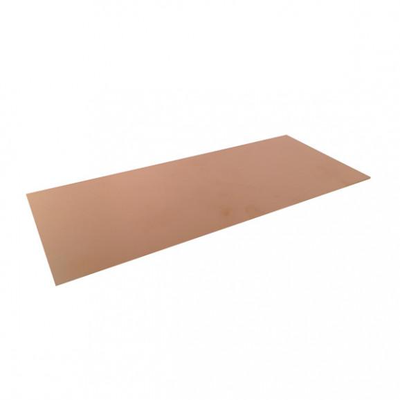 Placa de Fenolite Face Simples 10x30 cm