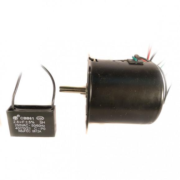 Motor AC 110VAC 5 RPM com Redução - Cód. Motor 56