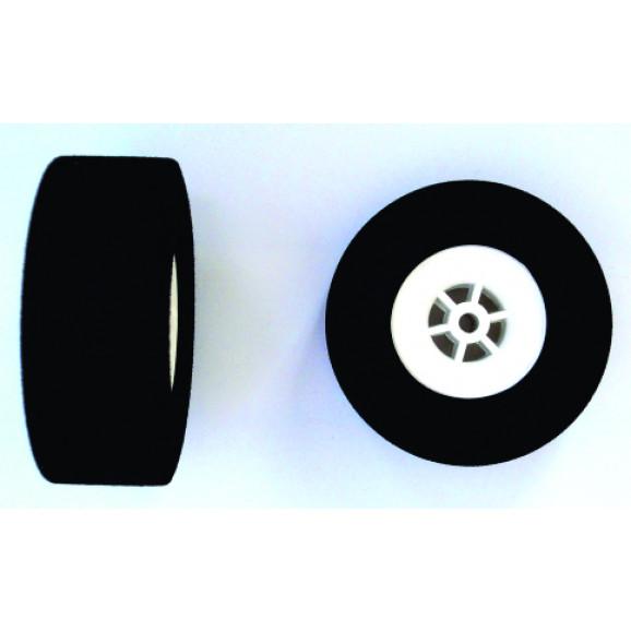 Roda de Espuma Extra Rigida - 60P - LHP-0900 - Embalagem com 2 Peças