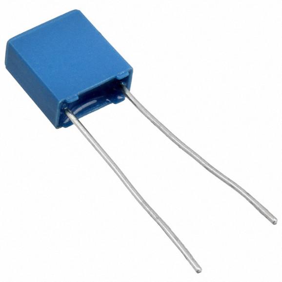 Capacitor Poliéster Film 1.2KPF/63V ( 0.0012uF / 1.2NF / 122 ) Série B32529 - Epcos