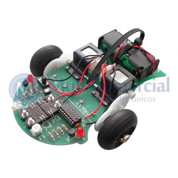 Robô Seguidor de Linha - Line Tracker DG-2000
