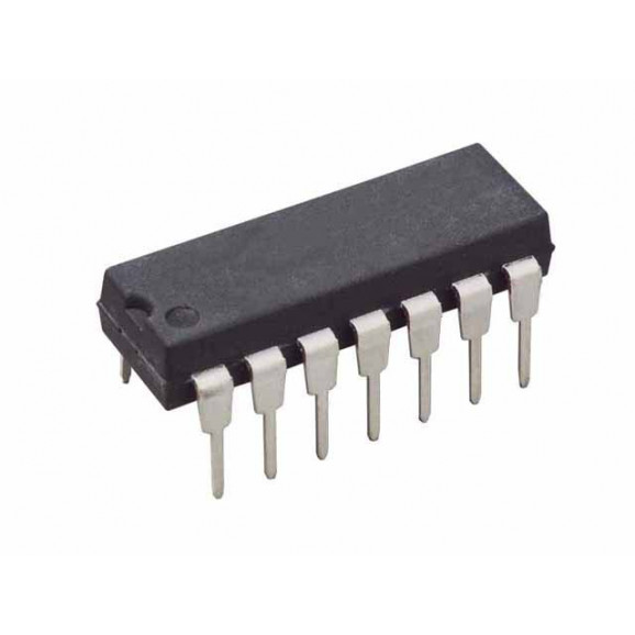 Circuito Integrado Porta Lógica HEF4011BE DIP14 Quadruple 2-input NAND gate - NXP - Cód. Loja 36 - CD4011