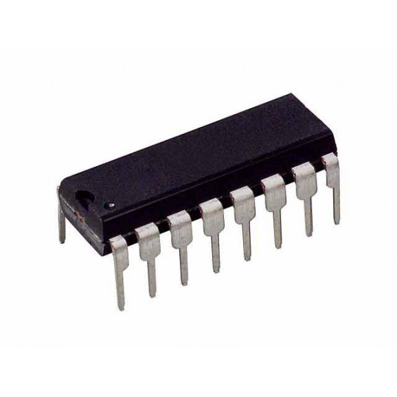 Circuito Integrado Porta Lógica CD4008BE DIP16 4-bit adder - Harris - Cód. Loja 2572 - CD4008