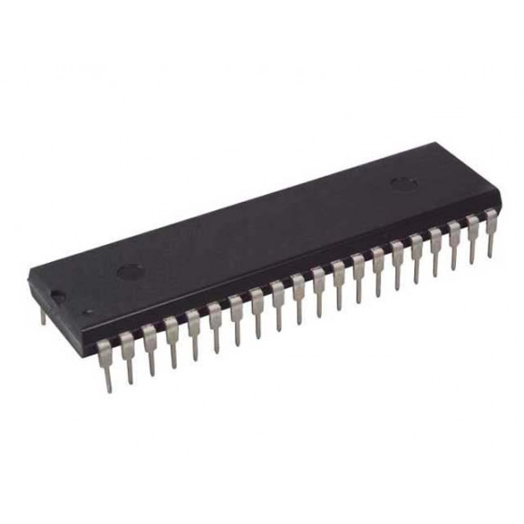 Microcontrolador PIC16F877A-I/P DIP40 - Microchip - Cód. Loja 3832