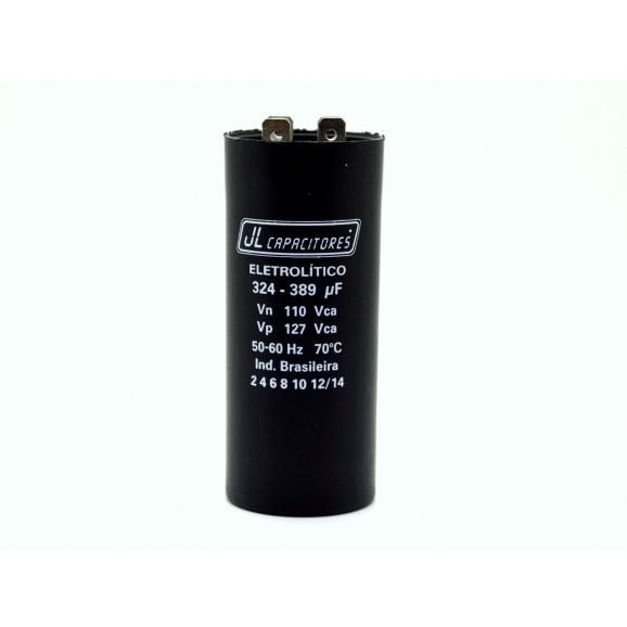 Capacitor para Partida de Motor 324-389UF/110V 36x86mm PM1-10