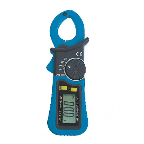 Alicate Amperímetro Digital ET-3120 - Display LCD de 3 ½ dígitos - Minipa