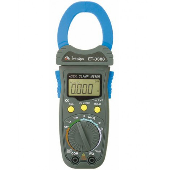 Alicate Amperímetro Digital ET-3388 - Minipa