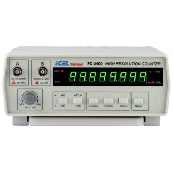 Frequencímetro Digital - FC-2400 - ICEL Manaus