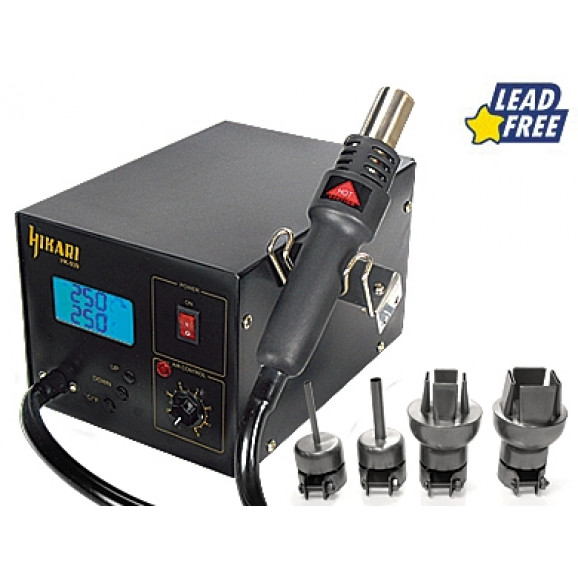 Estação de Retrabalho Digital para SMD HK-939 ESD - 127V ou 220V