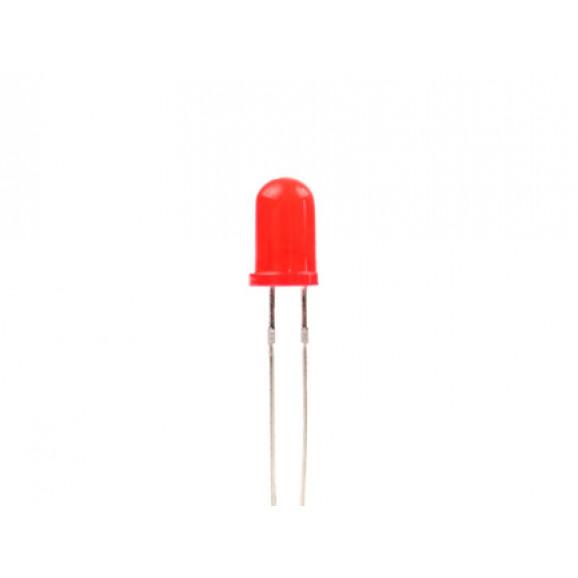 Led 5mm Vermelho Difuso L-513HD - Paralight