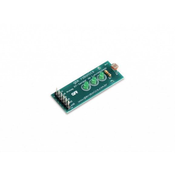 Módulo Sensor de Luz com LDR + Sequencial de Leds - GBK Robotics - P7