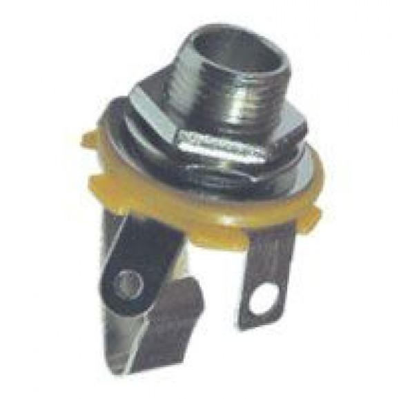 """Jack J10 Mono N.A 1/4"""" utilizado em pedais de efeito para instrumentos musicais - JL12004"""