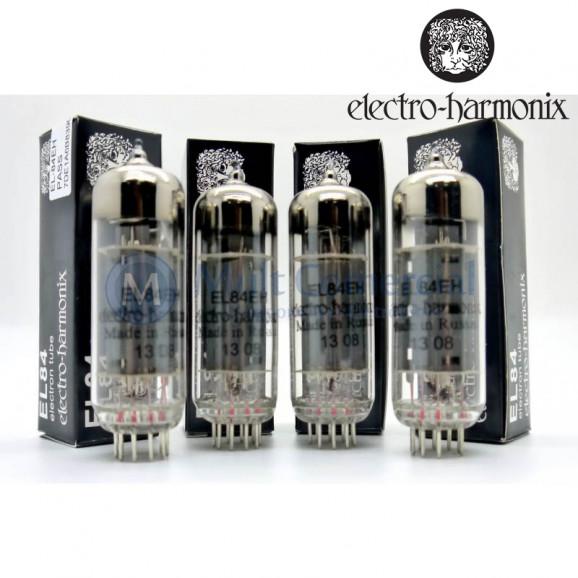Quarteto Casado da Válvula EL84EH 6BQ5 Pentodo de Potência Electro-Harmonix