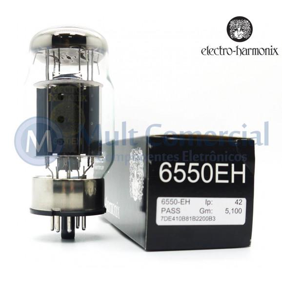 Válvula 6550EH Pentodo de Potência Electro-Harmonix