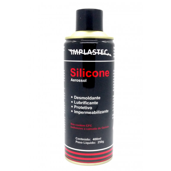 Silicone Aerossol 400ml - Implastec