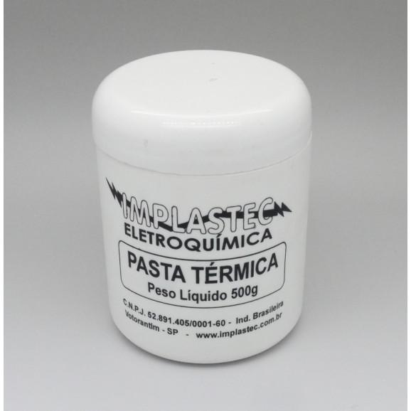 Pasta térmica silicone 500g - Implastec