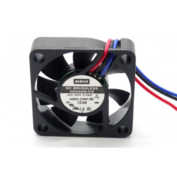 Microventilador Cooler AD0424HB-G76 24VDC 6000RPM 2.16 Watts (40x40x10mm) Rolamento - BERFLO
