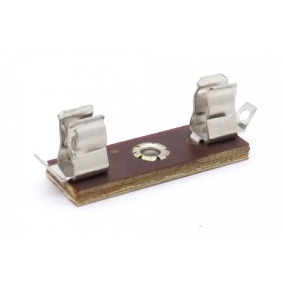 Porta Fusível para soldar fio em fenolite JL25010/PF.1651 para fusível 3AG