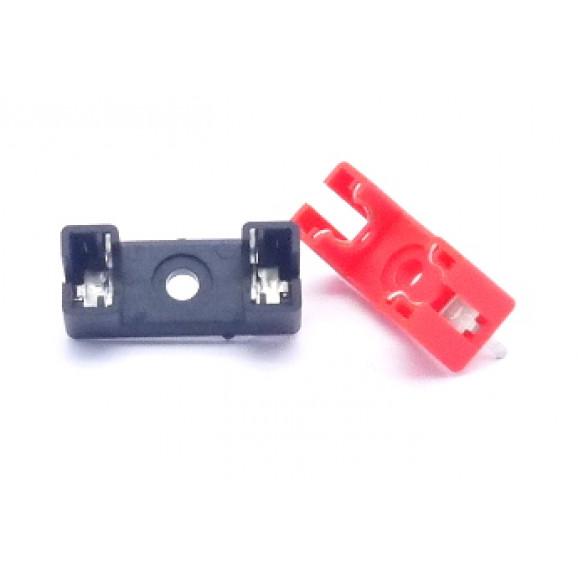 Porta Fusível para PCI JL25004/11152F para fusíveis de 20AG  - Preto ou Vermelho - Margirius