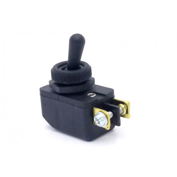 Interruptor de Alavanca Plástica Unipolar 6A CS-301D LIGA/DESLIGA BFB3FP1 - Margirius