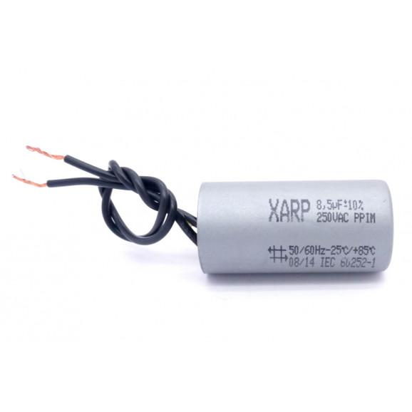 Capacitor de Partida 8.5uf/250VAC 50/60Hz +-10% - XARP