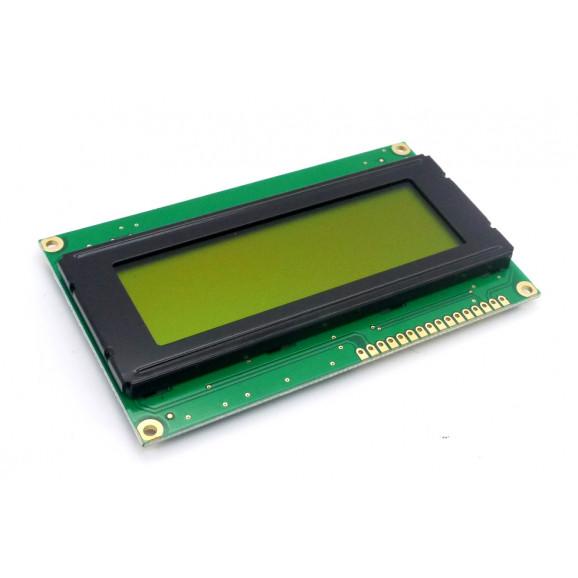 Display LCD 20x04 Verde sem Luz de Fundo (Back Light) WH-2004A-NYG-JT - Winstar