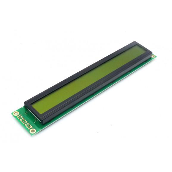 Display LCD 40x02 Verde com Luz de Fundo (Back Light) WH-4002A-YYH-JT - Winstar