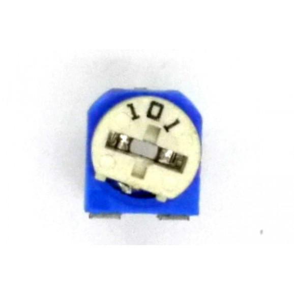 Trimpot Horizontal RKT-065-201R Ultra Mini 200R - Kingtronics