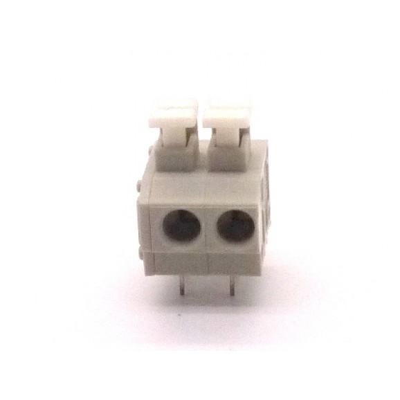 Conector Cinza Multipolar AK4101-04KD Fêmea de 4 vias - Passo 5.0mm - Phoenix Mecano