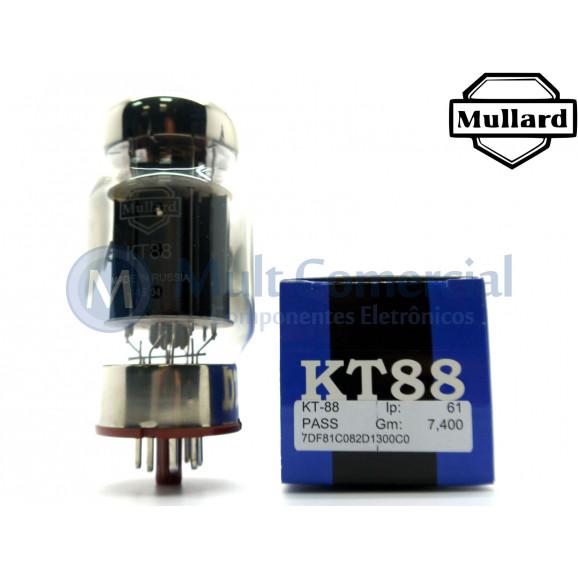 Válvula KT88 Tetrodo de Potência Mullard