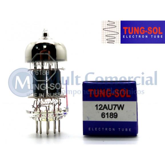 Válvula Duplo Triodo 12AU7W 6189 Tung-Sol