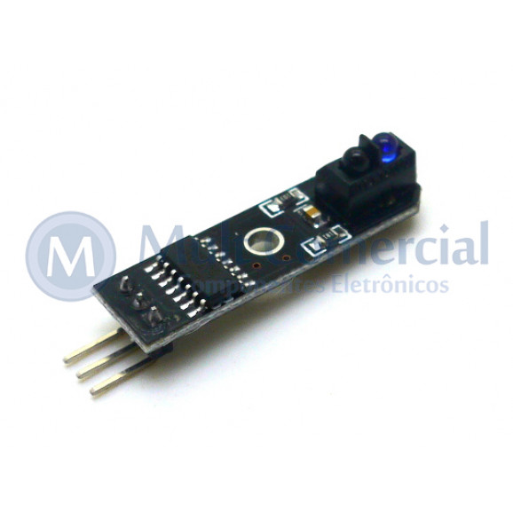 Sensor Óptico TCRT5000L Compatível com Arduino - GC-83