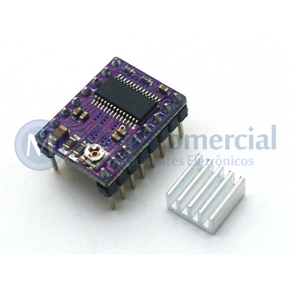 Driver para Motor de passo DRV8825 Compatível com Arduino - GC-50