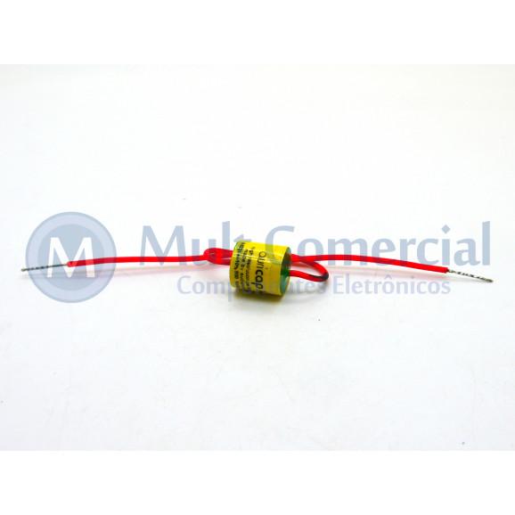 Capacitor de Polipropileno Metalizado 22KPF/600V Axial - Auricap