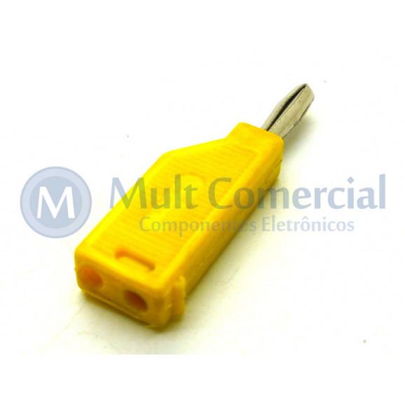 Pino Banana Amarelo 4mm - PB082 - Fusi-Brás