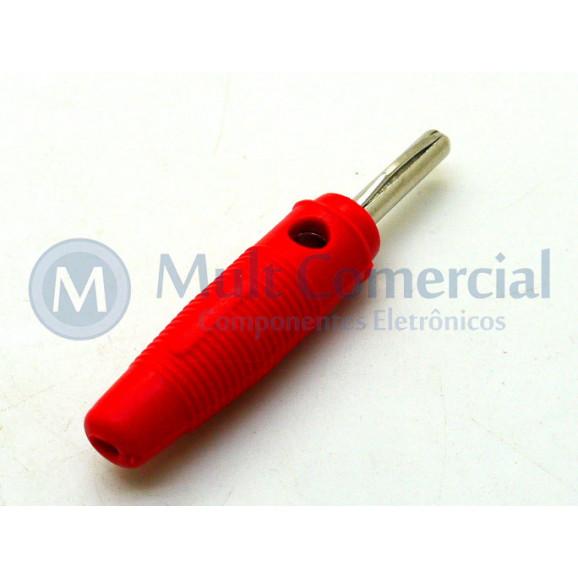Pino Banana Vermelho 4mm - PB151 - B.B.C