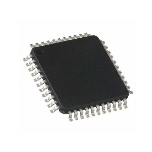 Microcontrolador ATMEGA16L-8AU - TQFP-44 - Atmel
