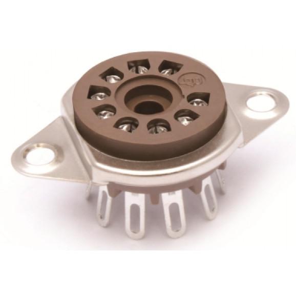 Soquete para Válvula de 9 Pinos (Noval) Solda Fio VT9-ST-2 - Belton