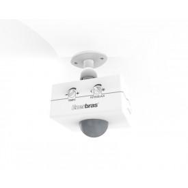 Sensor de Presença Infravermelho de Teto - 1501-E - Enerbras