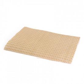 Tecido Ortofônico Bege Padrão 203-3-10 - Largura 1,30m
