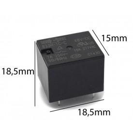 Relé para uso geral 48Vdc 10A SPDT 1 contato reversível 833H-1C-C-48VDC - Song Chuan