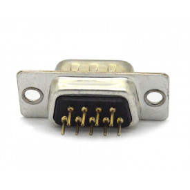 Conector DB09 Macho DS1034-09MBNSISS 180° PCI