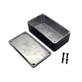 Caixa de Aluminio Preta 1590B2BK - Hammond